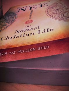 The Normal Christian Life by Watchman Nee...... so helpful in understanding some things!