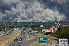 September Fires outside Austin
