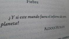 Poesía en Español - Aldous Huxley