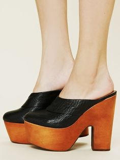 Jeffrey Campbell Drea Mule at Free People Clothing Boutique