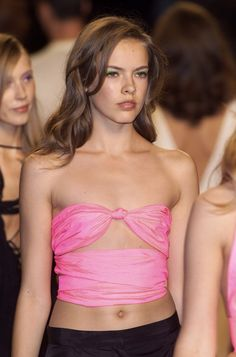 Cynthia Rowley at New York Spring 2001