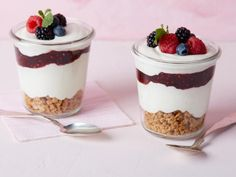 Get Summer Cheesecake Mousse Recipe from Food Network