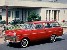 Opel rekord p2 1960-1963