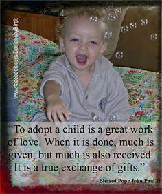 #Adoption, the loving option...https://www.facebook.com/DesignsbyBirgit