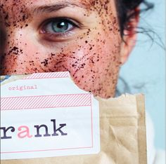 frank body coffee scrubs are gentle enough to be used on your face and help with acne and eczema too. I love frank body!