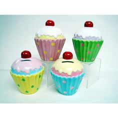 """Cupcake Money Banks 