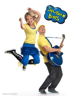 Family favourites, Splash N' Boots are at Capital EX! Come catch them at Family Fun Town from July Yellow Boots, Big Yellow, July 25, Lineup, Little Ones, Birthday Cake, Entertaining, Artists, Dance