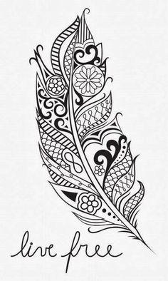It&Apos;S way over used these days mandala adulte, dessin plume, plume aqua Paisley Tattoos, Tribal Tattoos, Cool Tattoos, Tattoo Pics, Symbol Tattoos, Celtic Tattoos, Tatoos, Mandala Feather, Feather Art