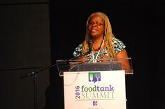 """Let's put wheels on this Food Tank!"" Karen Washington, Urban Farmer and Activist, Co-Founder of Black Urban Growers and Rise & Root Farm, @karwasher @riseandrootfarm Watch Live Now! @ www.foodtank.com #foodtank"