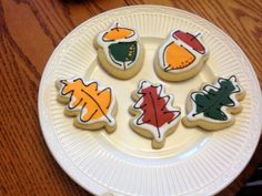 fall cookies   Flickr - Photo Sharing!@MrsStaceyR   idea from Jill FCS