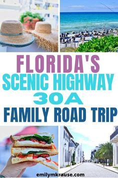 Florida Gulf Coast Beaches, Seaside Florida, Destin Florida, Navarre Florida, Santa Rosa Beach Florida, Road Trip Florida, Florida Vacation, Florida Travel, Vacation Places