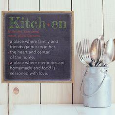 """Found it at Wayfair - """"Kitchen"""" Textual Art"""