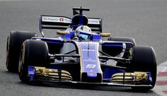 Sauber F1 Team's Swedish driver Marcus Ericsson drives at the Circuit de Catalunya on March 1, 2017 in Montmelo on the outskirts of Barcelona during the third day of the first week of tests for the Formula One Grand Prix season.  / AFP / JOSE JORDAN