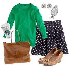 """10.9.12 OOTD"" by oregonmiss on Polyvore"