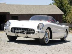 1953 Chevrolet Corvette (Polo White)