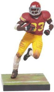 NCAA USC McFarlane 2012 College Football Series 4 Marcus Allen Action Figure by McFarlane Toys. Save 40 Off!. $12.00. Action figure comes with display base and comes in blister card packaging. Action figure stands approximately 6 -Inch tall. Dressed in college team uniform and painted in team colors. McFarlane 2012 College Football Series 4 features 1981 Heisman trophy winner Marcus Allen in his USC uniform.