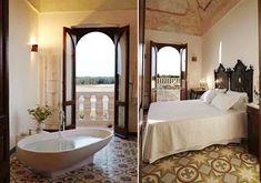 Villa Pizzorusso terrace bed and bath, Bari Puglia region