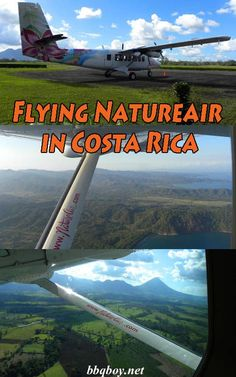Natureair is a great way to get around Costa Rica. But Costa Rica is a mountainous country and you can expect some bumpy rides. A few stories...#bbqboy #Natureair #CostaRica #flying #travel