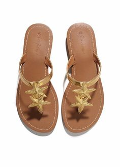 e9860b31e177 Every Single Piece From The Lilly Pulitzer x Target Collection. Starfish  SandalsGold ...