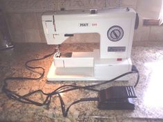 Pfaff Sewing Machine 1209 Compact Travel Great For Sewing Classes #Pfaff