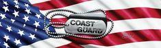 John Rios Coast Guard Tags and Flag Rear Window Graphic