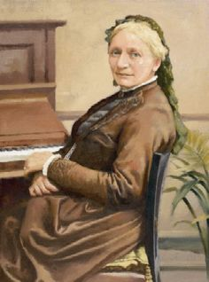 Clara Schumann - Wieck (1819 – 1896) is considered one of the most distinguished pianists of the Romantic era. She exerted her influence over a 61-year concert career, changing the format and repertoire of the piano recital. She and her husband, Robert Schumann encouraged Johannes Brahms. She was the first to perform publicly any work by Brahms. She later premiered some other pieces by Brahms, notably his 1st piano concerto and the Variations and Fugue on a Theme by Handel.