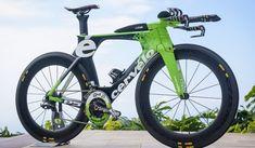 Uno de cada cuatro participantes en el Ironman de Hawaii 2013 usó una bicicleta Cervelo