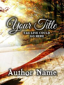 Book Pen and Sunlight on Fall Morning - Customizable Book Cover  SelfPubBookCovers: One-of-a-kind premade book covers where Authors can instantly customize and download their covers, and where Artists can post a cover and name their own price.