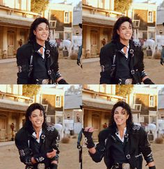 This is my favorite scene from Moonwalker!!! his laugh is the most adorable thing I've ever heard.