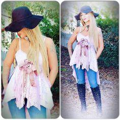 latest addition to my #etsy shop: Boho tunic dress, #StevieNicks style, shabby lilac bohemian tunic, Boho style clothing, lace pearl tunic top, hi low True rebel clothing SM http://etsy.me/2DF8kSH #clothing #women #shirt #purple #s #bohotunicdress #Coachella #INSTYLE