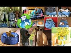 111 old jeans / denim recycle ideas - YouTube