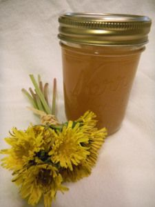 dandelion jelly from born in the wrong century.com