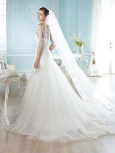 HAITZZE | Wedding Dresses | Costura 2014 Collection | San Patrick (back)