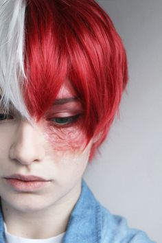 Todoroki Shouto Female Cosplay