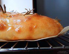 Focaccia cu rozmarin și sare de mare | Awfully Tasty Tasty, Bread, Food, Brot, Essen, Baking, Meals, Breads, Buns