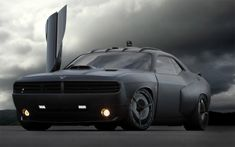 The US Air Force has teamed up with Galpin Auto Sports and built the stealth-looking Dodge Challenger Vapor – part muscle car, part fighter jet – all military strategy.    The designers fitted the body of the car with jet enhancements that would even make Batman look twice.  Special radar-blocking black paint covers the car, while a stealth exhaust allows it to run virtually silent. A roof-mounted camera and Biometric verification via the driver's thumbprint.  I really want one.