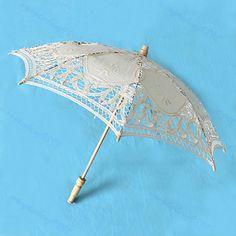 18.78$  Buy here - http://viduo.justgood.pw/vig/item.php?t=tsm3wu17881 - 25cm Lace Parasol Umbrella Embroider For Bridal Wedding Decorate 6 Colors#XY# 18.78$
