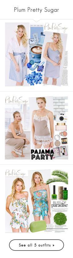 """Plum Pretty Sugar"" by gaby-mil ❤ liked on Polyvore featuring Huda Beauty, Dolce&Gabbana, robe, plumprettysugar, Merola, Polaroid, Valentino, romper, Illamasqua and Hadaki"