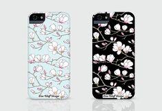 Magnolia iPhone cases.