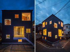 cuboid house in kitakarasuyama by mizuishi architect atelier - designboom   architecture & design magazine