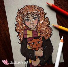 dada16808 Hermione Granger Harry Potter series