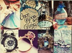 Fantasy Collages Number 17: Cinderella