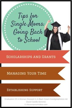 Tips for Single Moms: Going Back to School