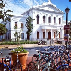 Stellenbosch, SA Bicycles, South Africa, Mansions, House Styles, Home, Decor, Decoration, Manor Houses, Villas
