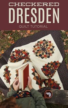 New Friday Tutorial: The Checkered Dresden Quilt | The Cutting Table Quilt Blog | Bloglovin'