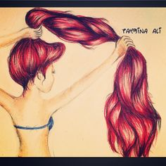 ariel tumblr drawing - Google Search