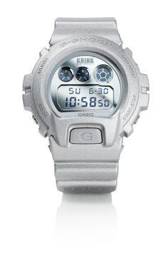 Krink x G-Shock watch