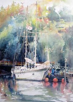 Lian Quan Zhen is a popular watercolor and Chinese painting artist