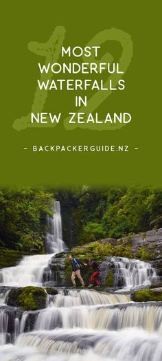 Who doesn't like a good waterfall?  We don't know why, but rapids and water falling from a height makes us humans rather thrilled! With that in mind, we devised this list of some of the most wonderful waterfalls in New Zealand.