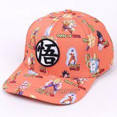 dfb0a7cc11c Anime Dragon Ball Z Son Goku Baseball Cap For Men Women Adjustable Hip-Hop  Snapback Hat